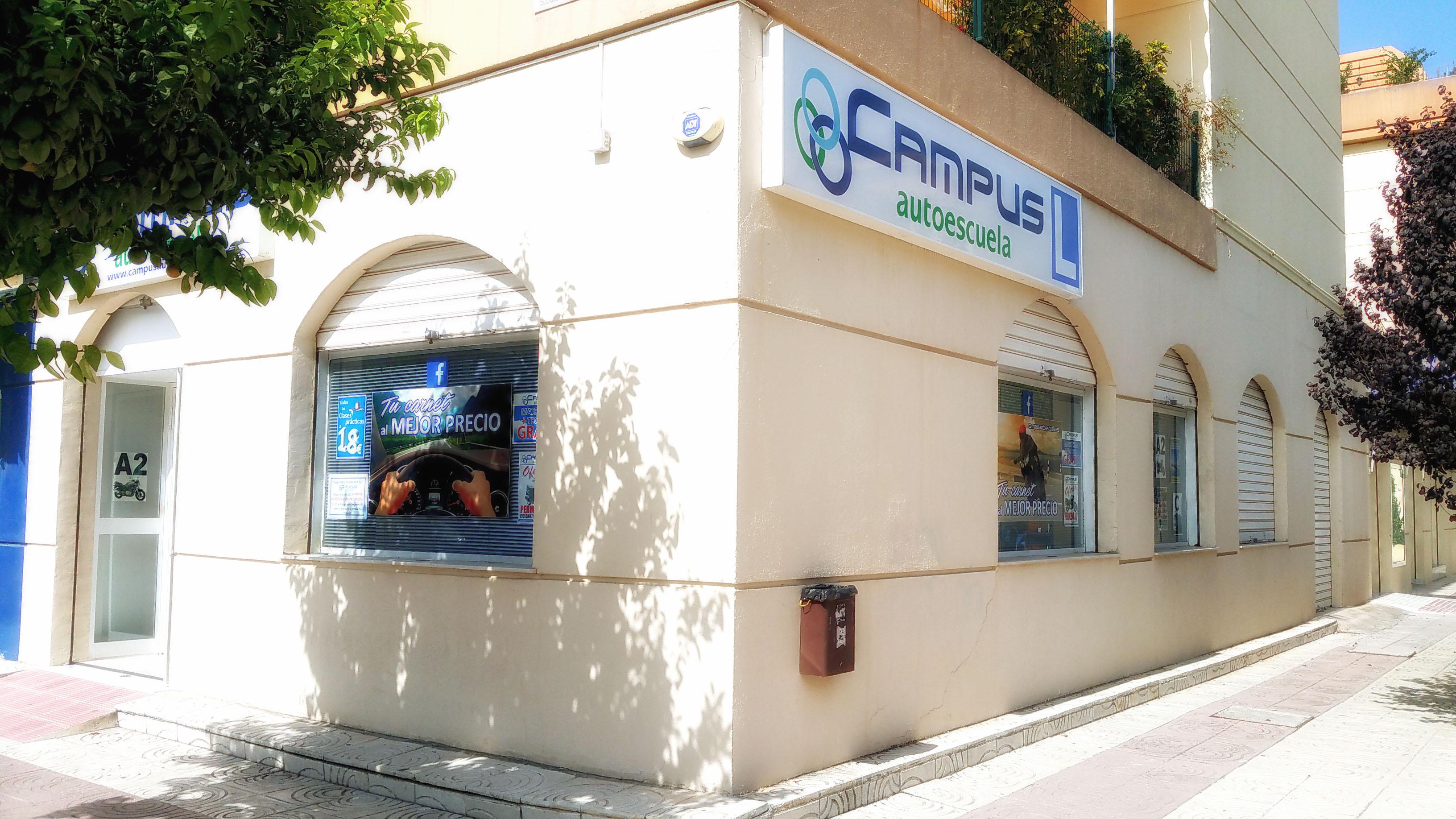 Oficinas Autoescuela Campus en Málaga